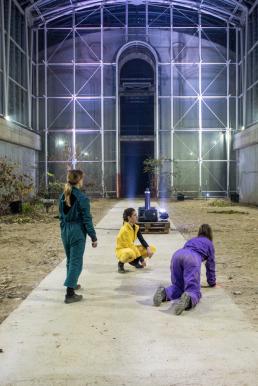 Zona Martiska - Performance - Serra di Borgo Castello - La Mandria - Venaria Reale| ph Klak - stories for artists