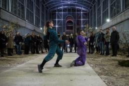 Zona Martiska - Performance - Serra di Borgo Castello - La Mandria - Venaria Reale | ph Klak - stories for artists