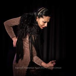 Pilar Ortega - Festival Flamenco Azul 2019