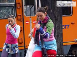 IO DANZO - Trolley Festival - Giardini Reali - dicembre 2006