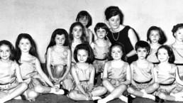 Mariella Pozzo con alcune sue allieve