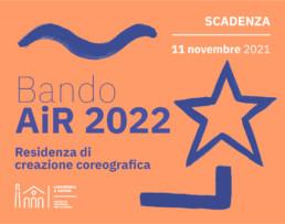 Bando AIR - Artisti in residenza 2022